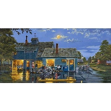 HadleyHouseCo 'Sam's Cafe' by Dave Barnhouse Painting Print