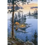HadleyHouseCo 'On Higher Ground' by Darrell Bush Painting Print