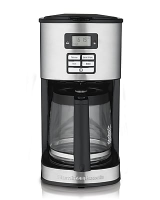 Hamilton Beach 12 Cup Stainless Steel Coffee Maker WYF078277632806