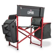 Picnic Time Fusion Chair; Los Angeles Clippers/Grey-Red