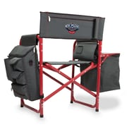 Picnic Time Fusion Chair; New Orleans Pelicans/Grey-Red