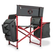Picnic Time Fusion Chair; Toronto Raptors/Grey-Red