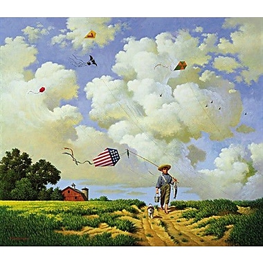 HadleyHouseCo 'Another Hard Day at the Office' by Charles Wysocki Painting Print