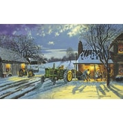 HadleyHouseCo 'Warmth of Home' by Dave Barnhouse Painting Print