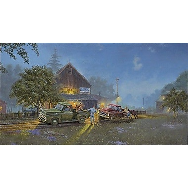 HadleyHouseCo 'Ford Lends a Hand' by Dave Barnhouse Painting Print