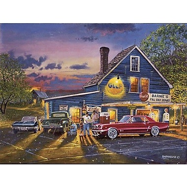 HadleyHouseCo 'Taking the Back Roads' by Dave Barnhouse Painting Print