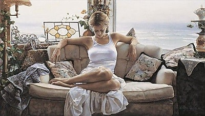 HadleyHouseCo 'To Search within' by Steve Hanks Painting Print