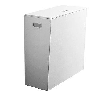 Gedy by Nameeks Kyoto Laundry Hamper; White