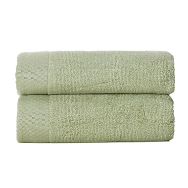BedVoyage Resort Rayon from Bamboo Hand Towel (Set of 2); Sage