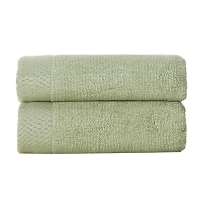 BedVoyage Resort Hand Towel (Set of 2); Sage