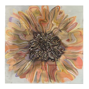 HadleyHouseCo ''Daisy'' by Polly Norman Painting Print on Plaque; 20'' H x 20'' W x 1.5'' D