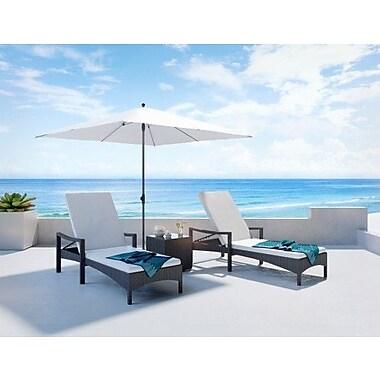 UrbanMod Outdoor Chaise Lounge w/ Cushion