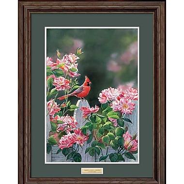 WildWings Garden Gateway by Susan Bourdet Framed Painting Print