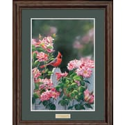 WildWings Garden Gateway by Susan Bourdet Framed Painting Print