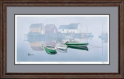 WildWings Tranquility in the Cove by Larry Deacon Framed Graphic Art