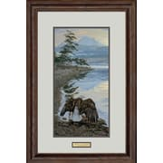 WildWings Dawn's Call - Bald Eagle by Lee Kromschroeder Framed Painting Print