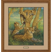 WildWings Family Outing by Lee Kromschroeder Framed Painting Print