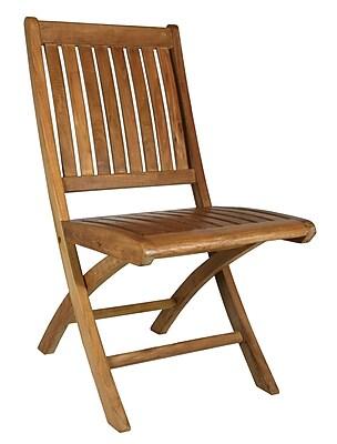 ChicTeak Santa Barbara Folding Patio Dining Chair (Set of 2)