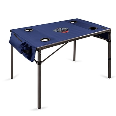 Picnic Time Travel Table; New Orleans Pelicans/Navy