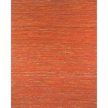 Pasargad Sari Silk Light Red Area Rug; 5'6'' x 8'6''