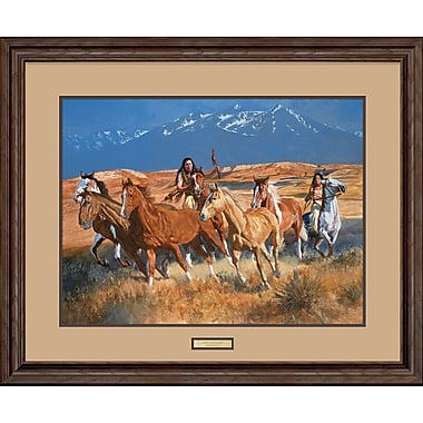 WildWings The Gathering by Daryl Poulin Framed Painting Print