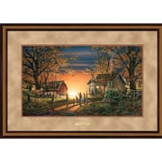 WildWings Morning Surprise by Terry Redlin Framed Painting Print