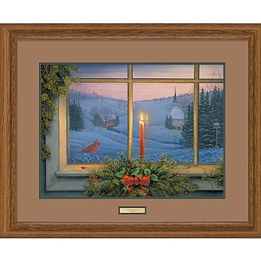 WildWings Candlelight by Sam Timm Framed Painting Print
