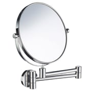 Smedbo Outline Three-Time Magnifying Shaving & Makeup Mirror