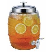 Euro-Ware Mini Barrel Glass 169 oz. Beverage Dispenser