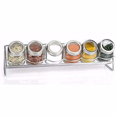Euro-Ware 6 Jar Free-Standing Spice Rack