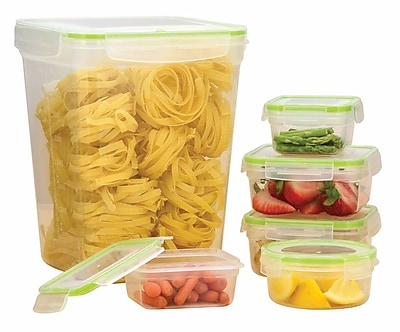 Euro-Ware Click and Lock 6 Container Food Storage Set