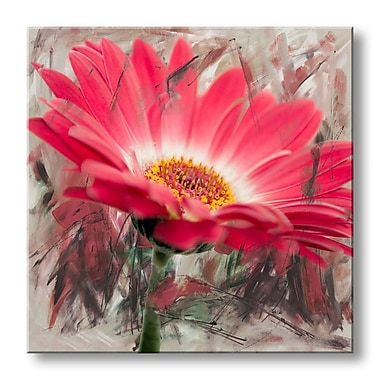 Ready2hangart 'Painted Petals XLIII' Photographic Print on Wrapped Canvas; 30'' H x 30'' W x 1.5'' D