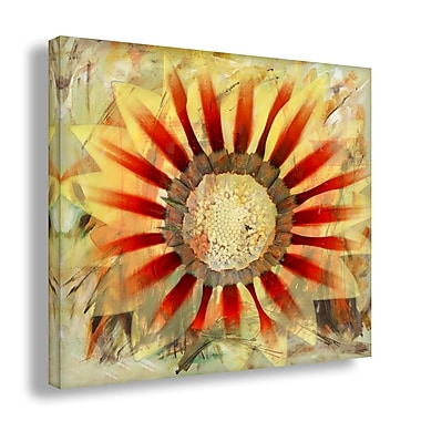 Ready2hangart 'Painted Petals XLV' Painting Print on Wrapped Canvas; 30'' H x 30'' W x 1.5'' D