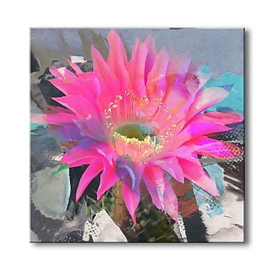 Ready2hangart 'Painted Petals L' Painting Print on Wrapped Canvas; 30'' H x 30'' W x 1.5'' D