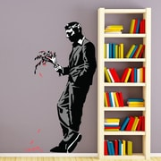 Style and Apply Banksy A Late Date Wall Decal; 70'' H x 39'' W