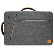 Vangoddy Slate Gray Laptop Bag 15.6 Inch (LAPLEA032)