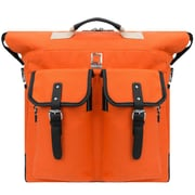 Lencca Phlox Hybrid Backpack and Messenger Bag Orange 15.4 Inch (LENLEA063)