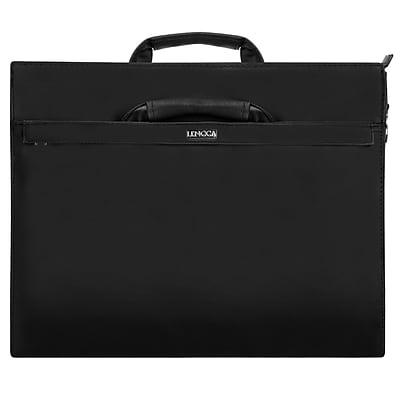Lencca Brink Black Laptop Shoulder Crossbody Bag