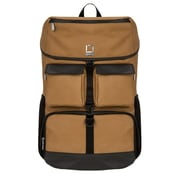 Lencca Logan Brown Laptop Backpack 17.3 Inch (LENLEA221)