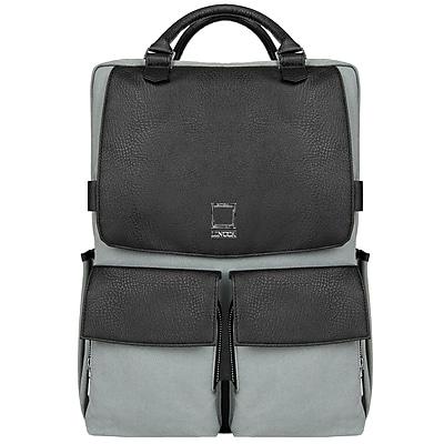 Lencca Novo Gray Laptop Crossover Shoulder Bag 15.6 Inch (LENLEA814)