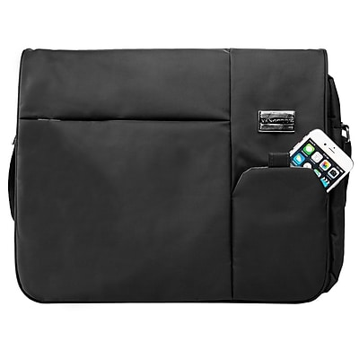 Vangoddy Italey Laptop Messenger Bag (Black)