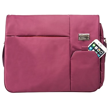 Vangoddy Italey Laptop Messenger Bag (Purple)