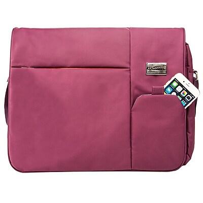 Vangoddy Italey Laptop Messenger Bag (Purple)