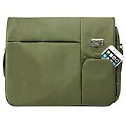 Vangoddy Italey Laptop Messenger Bag (Olive Green)