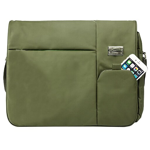 2ca07661471 Vangoddy Italey Laptop Messenger Bag (Olive Green).  https   www.staples-3p.com s7 is