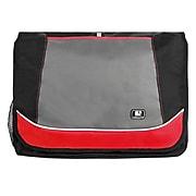 SumacLife Canvas Travel Laptop Messenger Bag (Red)