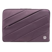 "Vangoddy Jam Nylon Laptop Protector Sleeve, 15.6"", Purple"