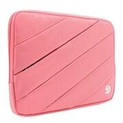 "Vangoddy Jam Nylon Laptop Protector Sleeve 13"" Pink"