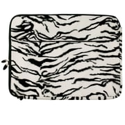 "Vangoddy Laptop Protector Sleeve Fits up to 15"" Laptop (Zebra Print)"
