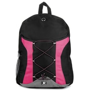 SumacLife Canvas Athletic Laptop Backpack (Magenta)